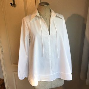 Zara Basic White shirt A line tunic
